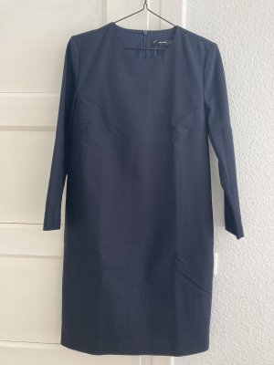 Hallhuber Etuikleid Minikleid Kleid dunkelblau Taschen Gr. 38 NEU