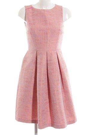 Hallhuber Etuikleid pink-goldfarben meliert Elegant