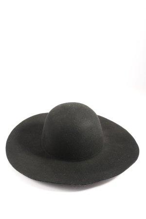 Hallhuber Felt Hat black casual look