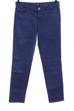 Hallhuber Five-Pocket-Hose blau Casual-Look