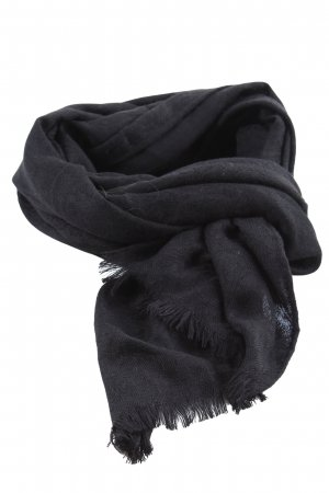 Hallhuber Fringed Scarf black casual look