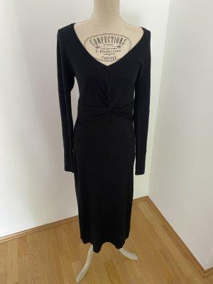 Hallhuber geripptes Kleid mit Knotendetail Gr. XL