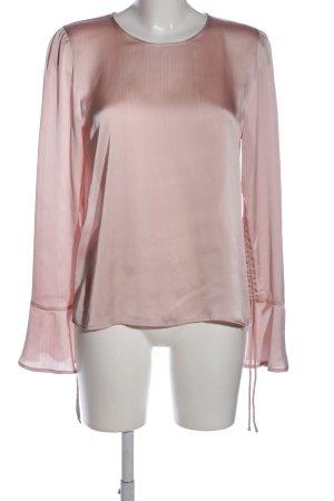 Hallhuber Glanzbluse pink Elegant