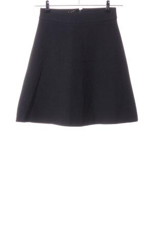 Hallhuber Flared Skirt black business style