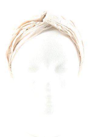 Hallhuber Bandeau cheveux crème style décontracté