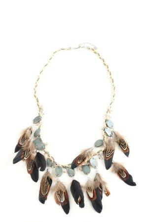 Hallhuber Halskette mehrfarbig extravaganter Stil