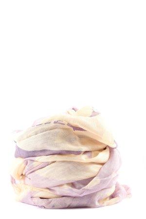 Hallhuber Halsdoek sleutelbloem-lila casual uitstraling