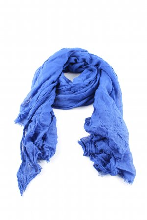 Hallhuber Halstuch blau Casual-Look