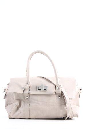 Hallhuber Handtasche wollweiß Business-Look