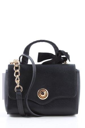 Hallhuber Handtasche schwarz Business-Look