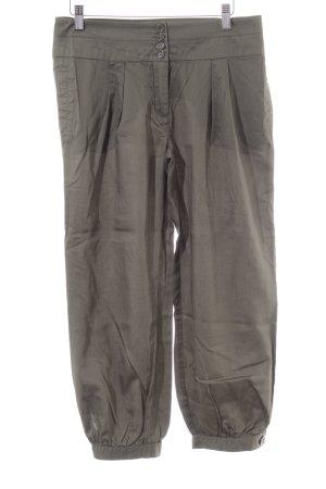 Hallhuber Pantalón estilo Harem caqui look Street-Style