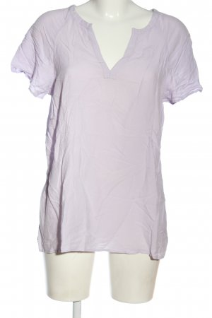 Hallhuber Blusa-camisa lila look casual