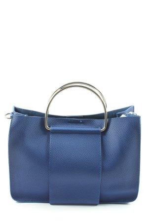 Hallhuber Sac Baril bleu style d'affaires