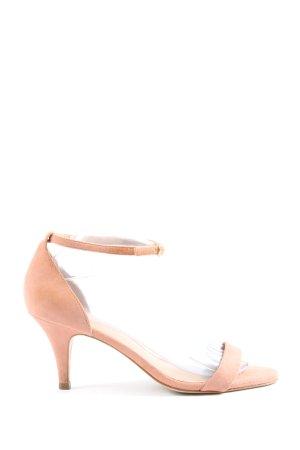 Hallhuber High Heel Sandaletten nude Casual-Look