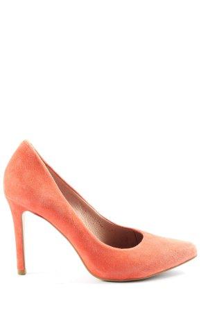 Hallhuber High Heels rot Casual-Look