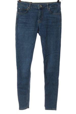 Hallhuber High Waist Jeans blau Casual-Look