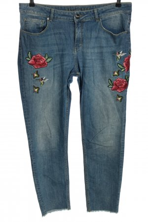 Hallhuber High Waist Jeans blau Casual-Look