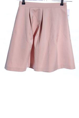 Hallhuber High Waist Rock pink Elegant