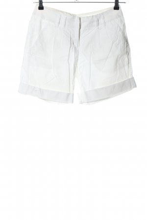Hallhuber High-Waist-Shorts weiß Casual-Look