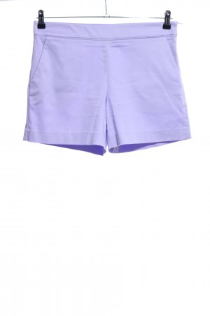 Hallhuber High-Waist-Shorts lila Casual-Look