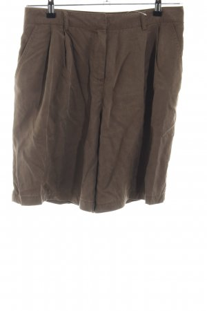 Hallhuber High-Waist-Shorts braun Casual-Look