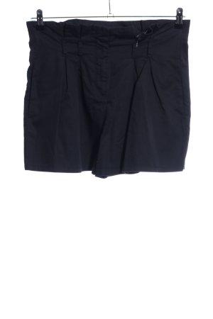 Hallhuber High-Waist-Shorts schwarz Casual-Look