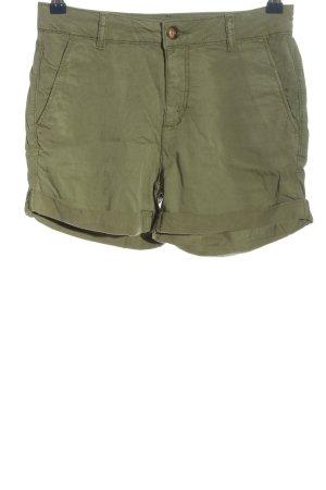 Hallhuber High-Waist-Shorts khaki Casual-Look