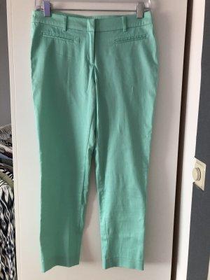 Hallhuber Pantalone di lino turchese Cotone