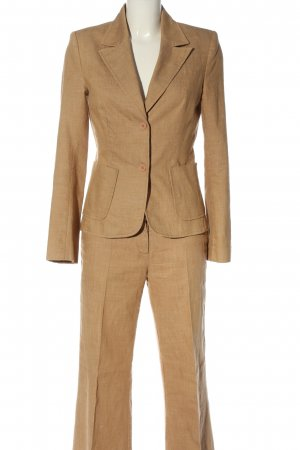 Hallhuber Trouser Suit brown business style