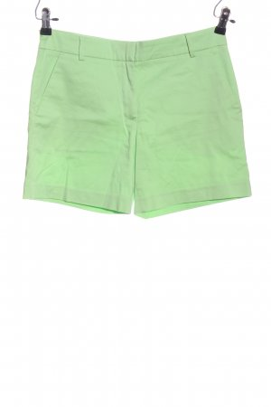 Hallhuber Hot Pants grün Casual-Look
