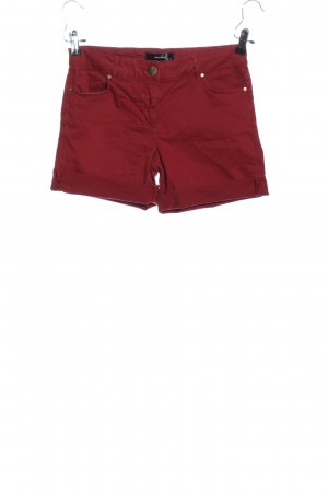 Hallhuber Hot Pants rot Casual-Look