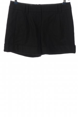 Hallhuber Hot Pants schwarz Casual-Look
