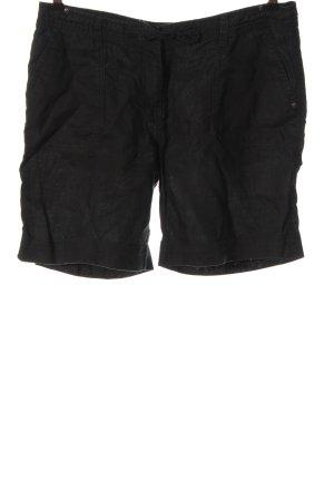 Hallhuber Krótkie szorty czarny W stylu casual