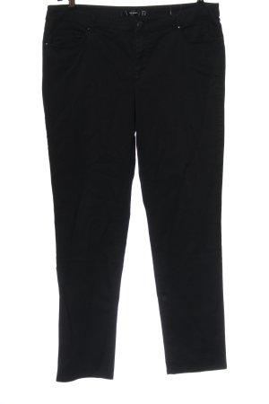 Hallhuber Spodnie biodrówki czarny W stylu casual