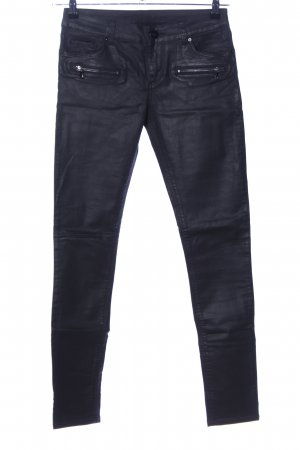 Hallhuber Low-Rise Trousers black casual look