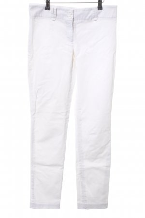 Hallhuber Low-Rise Trousers white casual look