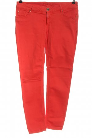 Hallhuber Low-Rise Trousers red casual look
