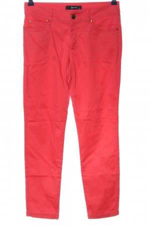 Hallhuber Stretchhose rot Casual-Look
