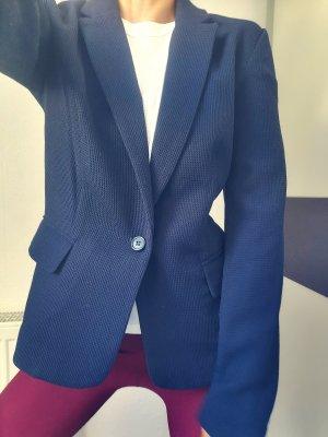 Hallhuber Sweat Blazer blue
