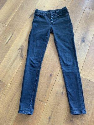 Hallhuber Skinny Jeans black