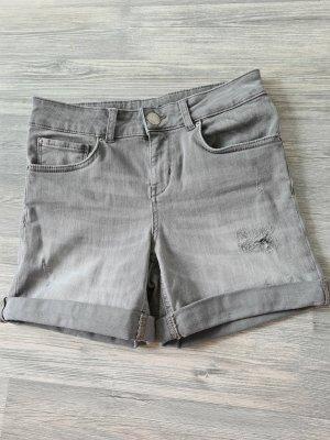 Hallhuber Jeansowe szorty jasnoszary-szary