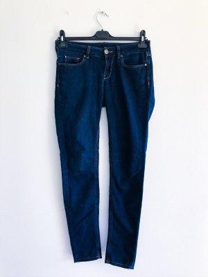 Hallhuber Jeanshose, Jeggins, Röhrenjeans, blaue Jeanshose, Gr. XS / 34