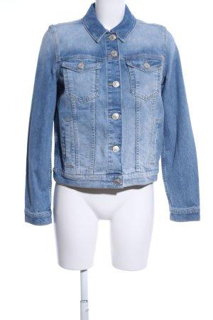 Hallhuber Jeansjacke blau Casual-Look