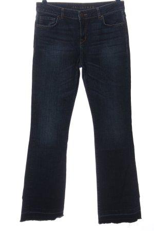 Hallhuber Jeansschlaghose blau Casual-Look