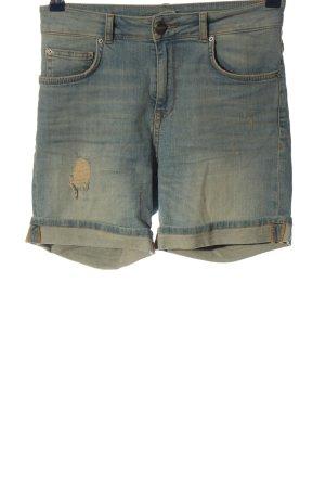 Hallhuber Jeansshorts blau Casual-Look