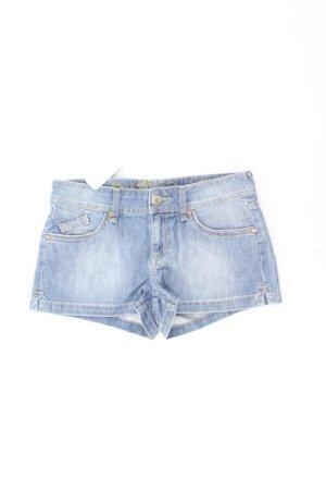 Hallhuber Shorts blu-blu neon-blu scuro-azzurro Cotone