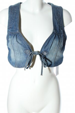 Hallhuber Smanicato jeans blu stile casual