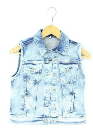 Hallhuber Jeansweste blau Größe 36