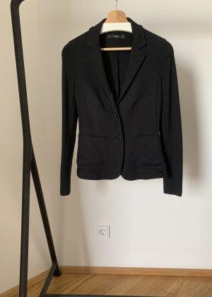 Hallhuber Jersey Blazer black