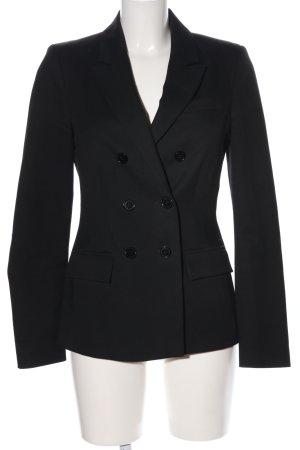 Hallhuber Jersey blazer zwart zakelijke stijl